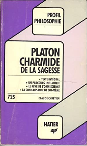 Livres PLATON. Charmide pdf
