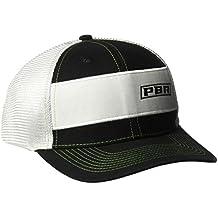 PBR Men's Ceter Stripe Offset Name Cap