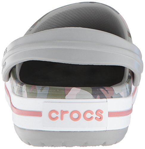 Crocband Clogs crocs Grey Unisex Camo Iii Erwachsene Mehrfarbig Graphic Light wHCBfq