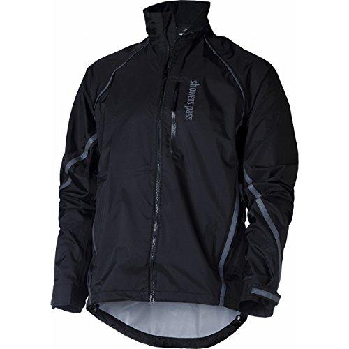 (Showers Pass Men's Transit Jacket, Black, Large)