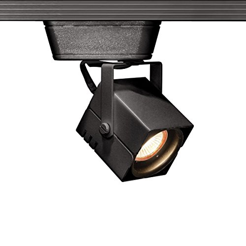 WAC Lighting JHT-801L-BK J Series Low Voltage Track Head, 75W