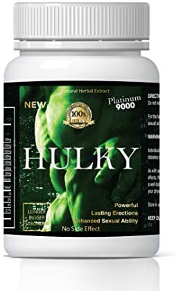 Hulky Natural Male Dietary Herbal Product for Men Pack of 10