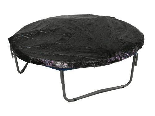 8' Trampoline Protection Cover (Weather & Rain Cover) Fits for 8 FT. Round Trampoline Frames - Black by Upper Bounce