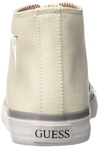 white Guess Walter Baskets Homme Blanc White Hautes UXwXqry6
