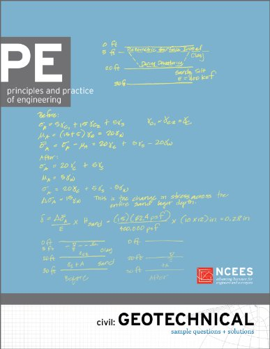 PE Civil: Geotechnical Sample Questions and Solutions NCEES