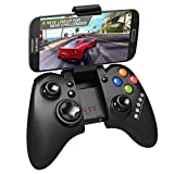 Megadream Wireless Android Gaming Controller Joystick with Phone Clamp for Samsung Galaxy S9 S8 S7 S6 Note 9 8