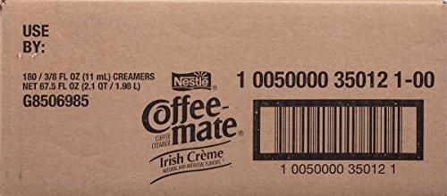 NESTLE COFFEE-MATE Coffee Creamer, Irish Creme, liquid creamer singles, 180 Count by Nestle Coffee Mate (Image #4)