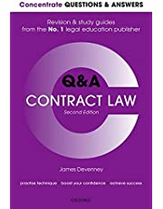 Concentrate Questions and Answers Contract Law: Law QandA Revision and Study Guide
