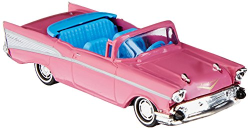 (Busch 45031 Chevrolet Bel Air Convertible Pink 1957 HO Scale Model Car)