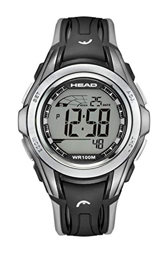 Winner Men Women Sport Watch 10ATM Waterproof and Shock Resistant. Chronograph with Split, Timer, Alarm and Second Time Zone. Pefrect for Travel and Hiking. Designed in Italy