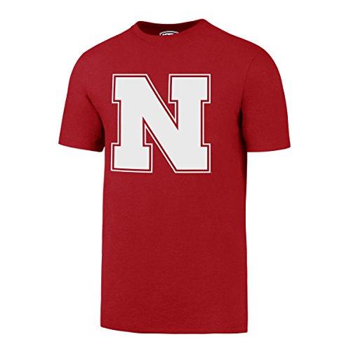 - OTS NCAA Nebraska Cornhuskers Men's Rival Tee, Medium, Red