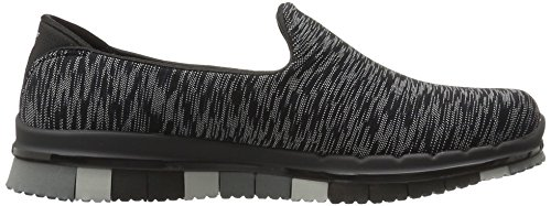 Sneaker Donna Flex Black Go Skechers Multi YqT4n