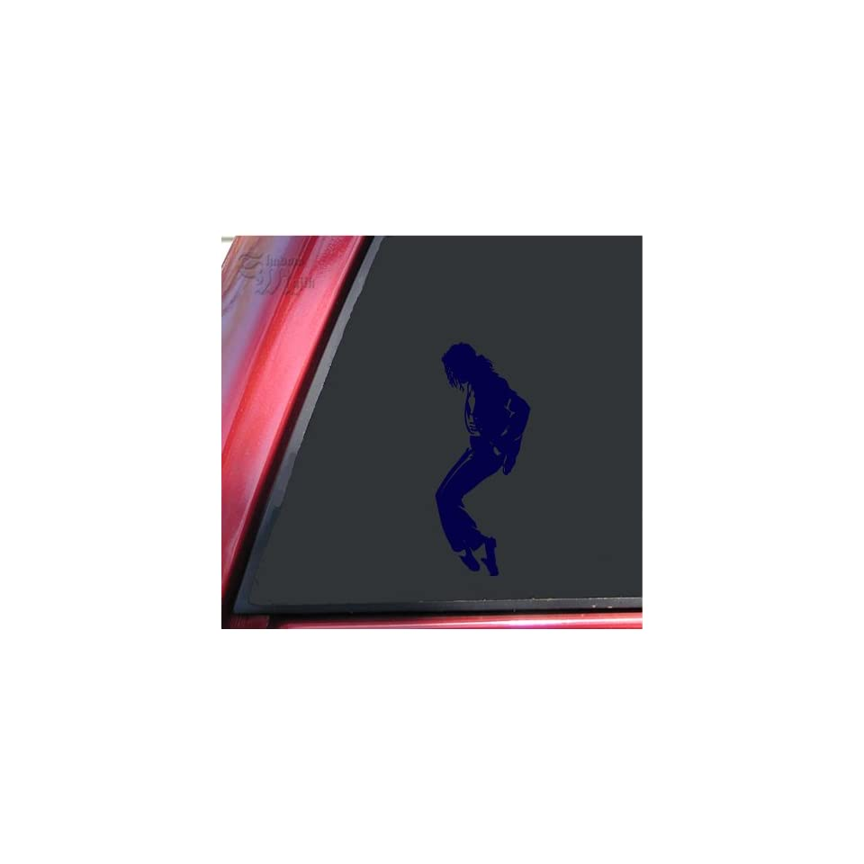 Michael Jackson Silhouette Vinyl Decal Sticker   Dark Blue