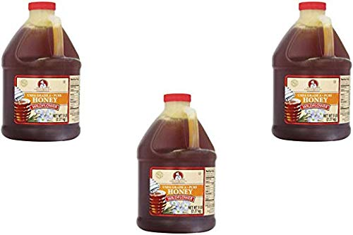 Chef's Quality: Wildflower Honey 80 Ounces (3 Pack)