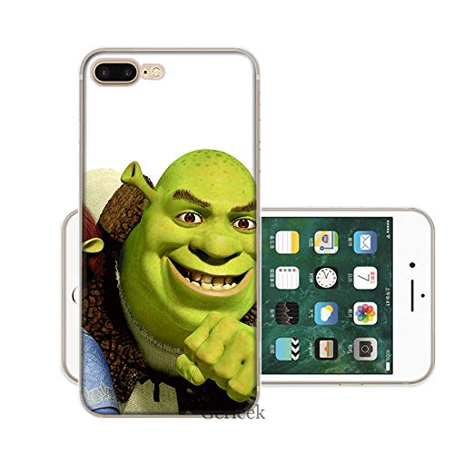 Inspired by Shrek Phone Case Compatible With Iphone 7 XR 6s Plus 6 X 8 9 11 Cases Pro XS Max Clear Iphones Cases TPU Tree Tiny 4000285326137 Cutout Tree Tree