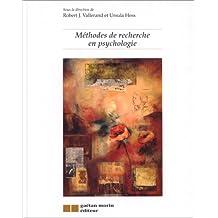 Méthodes de recherche en psychologie