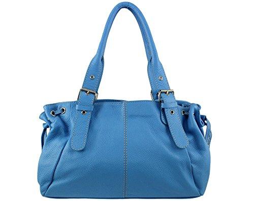 Plusieurs sac Bleu main a cuir sac a femme italie Maria Coloris maria sac main a main à Sac cuir maria a Ciel sac sac sac main cuir main FqvwXZOa