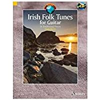 Irish folk tunes +CD : 24 pièces traditionnelles irlandaises --- Guitare
