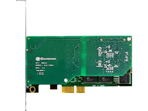 Sangoma A102DE AFT Dual T1 E1 Data Streams PCIE Asterisk Voice Card EC Hardware