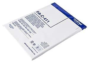 Brother PAC411 - Paquete de 100 hojas de papel térmico A4