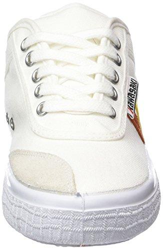 Kawasaki Holly Nuclear - Zapatillas Unisex adulto Blanco - Weiß (White, 01)