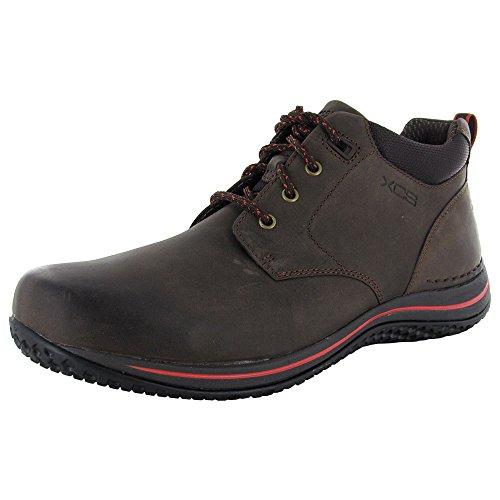 Rockport XCS Men Walk360M Chukka Lace Up Boot Shoe, Bark/Che