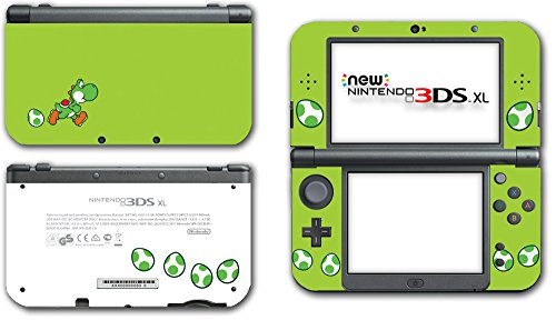 Yoshi Special Egg Green Special Edition Super Mario Bros Cute Dinosaur New Island DS World Video Game Vinyl Decal Skin Sticker Cover for the New Nintendo 3DS XL System Console