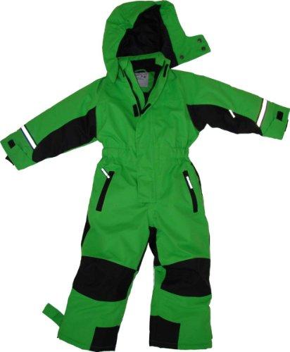Maylynn - Softshell Skianzug Schneeanzug Grün, Größe:116