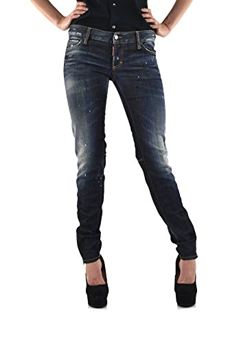 Super Slim Jeans Print with Dsquared2 Rubber Ywq5SWd