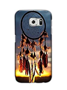 Tomhousomick Custom Design Women's Pretty Dream Catcher Case for Samsung Galaxy S6