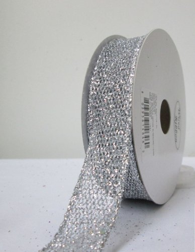 7-8-inch-silver-wired-metallic-netting-with-sequins-10-yard-roll-fe