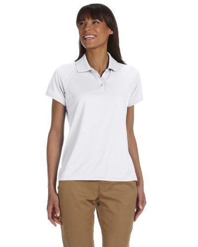 Chestnut Hill Women's Short Sleeve Technical Performance Polo Shirt CH365W white XX-Large