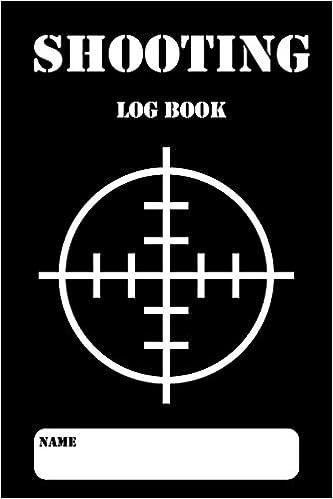 amazon shooting log book shooting logbook target handloading