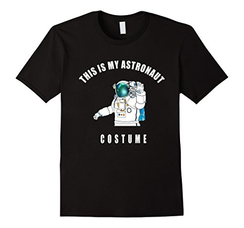 Men's astronaut costume sci-fi space funny humor T-shirt Medium (Funny Space Costumes)