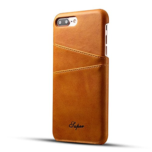 iPhone 7 Plus Case,TACOO Premium PU Leather with Card Holder Function Back...