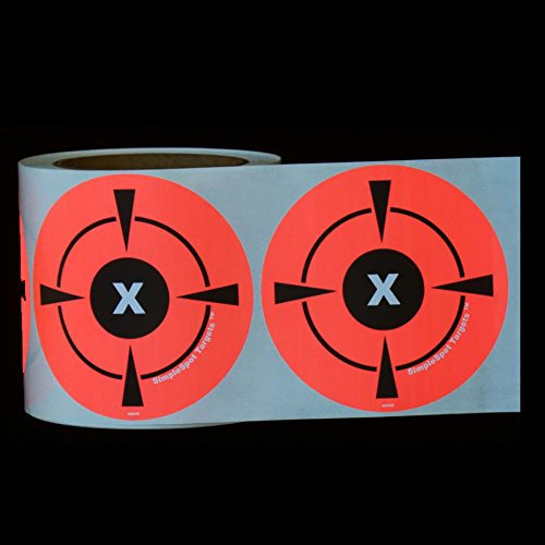 "250 Mega Pack 4"" Target Sticker Roll - Self Adhesive"