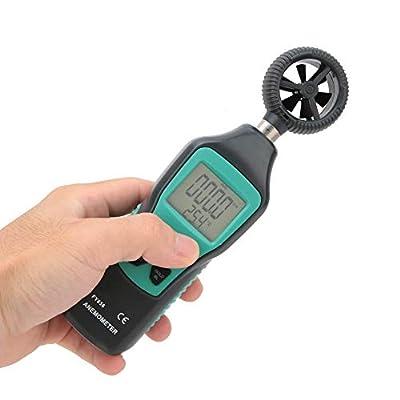 Digital Anemomete,Digital Anemometer Thermometer Handheld Pocket Wind Rate Meter Air Rate Temperature Tester