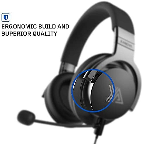 XANOVA JUTURNA-U Gaming Headset for Console, PC, Over Ear Headphone, Stereo Sound, Equipped with 7.1 Sound Card