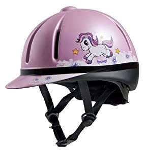 Troxel Legacy Unicorn Helmet, Pink, Medium