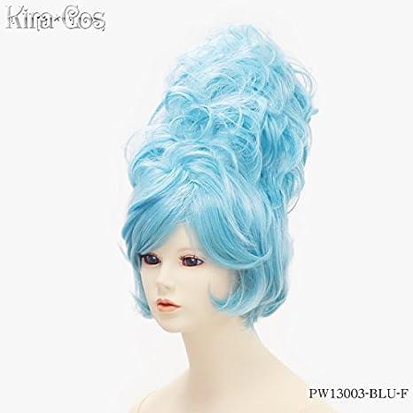 Blue Cosplay Accessories Pw13003o Blu Kirakosu F Candy Wig Pop'n 4LRj35A