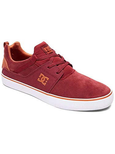 DC Shoes Heathrow Vulc, Sneaker Uomo Bordeaux