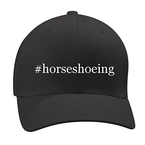 #horseshoeing - A Nice Hashtag Men's Adult Baseball Hat Cap