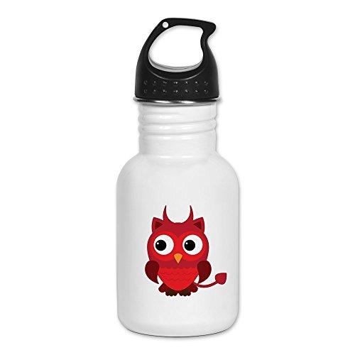 [Kid's Water Bottle Little Spooky Owl Devil Monster] (Hades Child Costume)