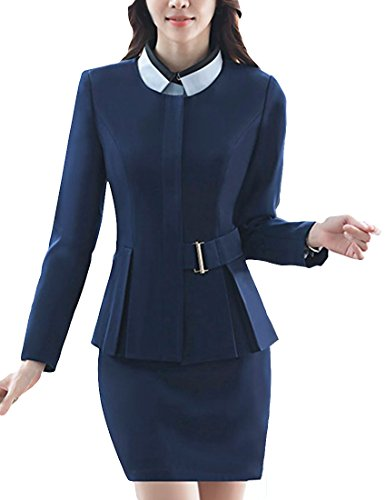 Woman Belted Suit Jacket - 6