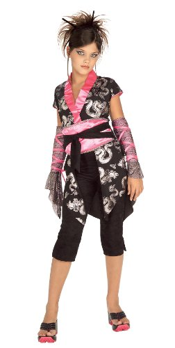 Rubie's Pink Ninja Costume - Medium (5-7) -