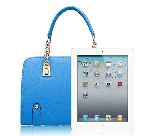 Ladies Blue Stylish for Designer Women's Handle Handbag Top BeAllure xP40zwqv4