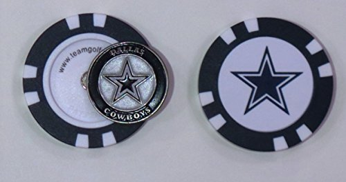 Team Golf Dallas Cowboys Poker Chip Golf Ball - Cowboys Poker