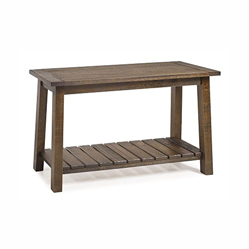 - Seabrook Console Table (Rustic Oak)