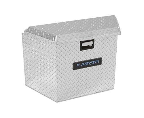 Lund 6134T 21-Inch Aluminum Trailer Tongue Truck Box, Diamond Plated, -