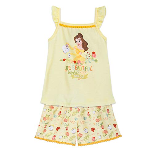 Disney Belle Short Sleep Set for Girls Size 7/8 Multi